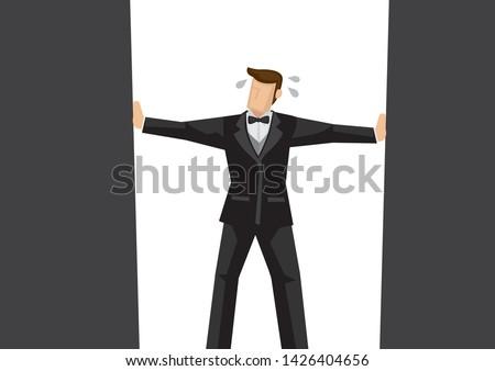 metaphor of businessman in the