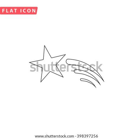 meteor icon vector meteor icon