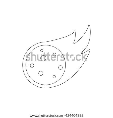 meteorite icon meteorite icon