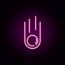 meteorite icon. Universal set of web for website design and development, app development