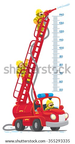 meterwall or height meter with