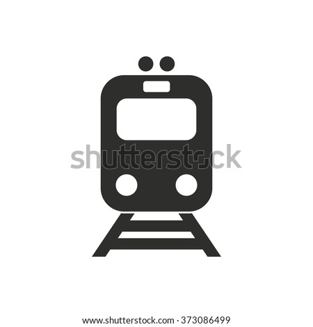 metro  icon  on white