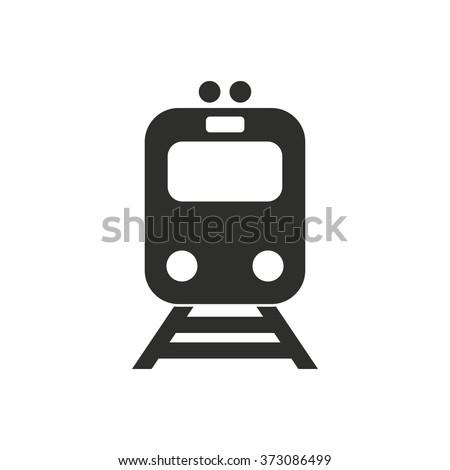 Metro  icon  on white background. Vector illustration.