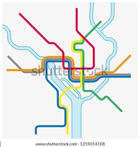 This is a photo of Printable Washington Dc Metro Map in virginia map