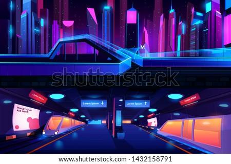 metro station ground and
