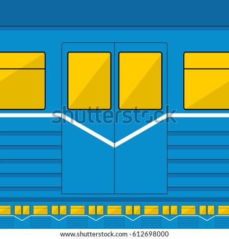 metro train texture vector