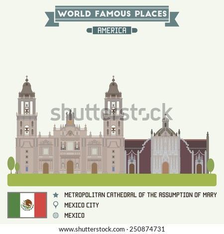 Metropolitan Cathedral of Assumption of Mary. Mexico city
