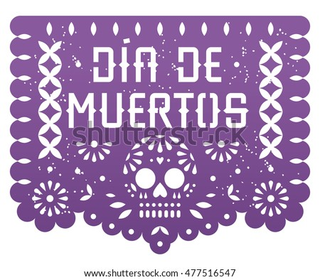 mexican day of the dead banner