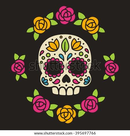 mexican dia de los muertos  day