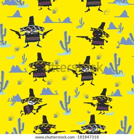 mexican mariachi shoot pistols