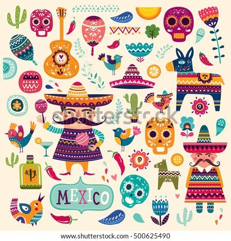 Mexican symbols Сток-фото ©