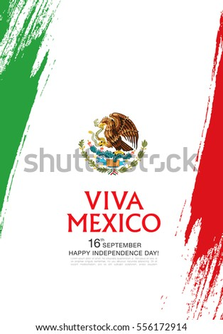 Shutterstock Mexican translation of the inscription: 16 th of September. Happy Independence day! Viva Mexico!