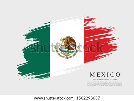 mexican vector banner layout