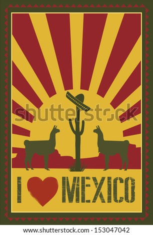 mexico background  vector