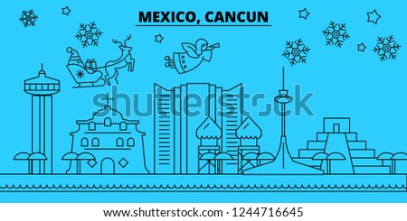 Mexico Postcard Vector Download Free Vector Art Stock Graphics