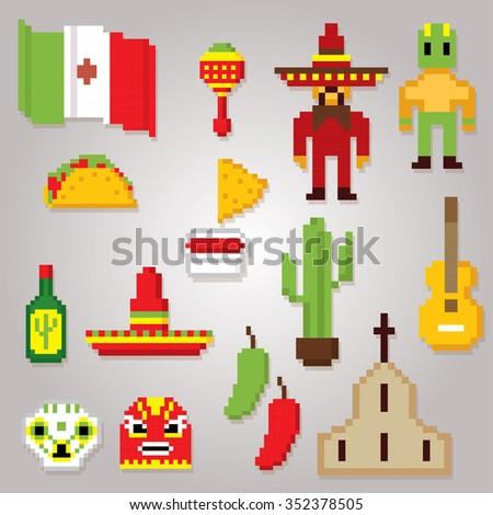 Vector Images Illustrations And Cliparts Mexico Culture Symbols