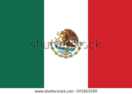 mexico flag vector format