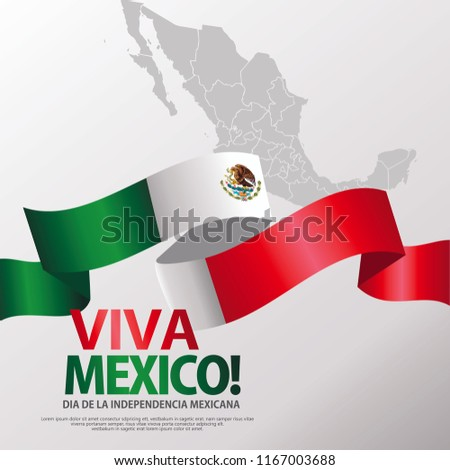 Mexico happy independence day greeting card download free vector mexico happy independence day greeting card waving mexican flags and white background vector illustration m4hsunfo