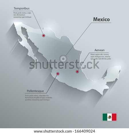 Mexico Map Vector Download Free Vector Art Stock Graphics Images