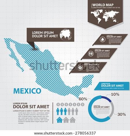 Mapa Mexico Vector Free Vector In Adobe Illustrator Ai Ai