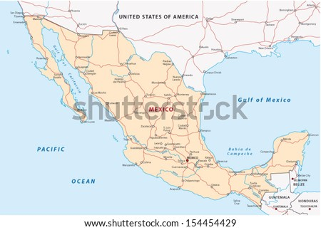 mexico road map