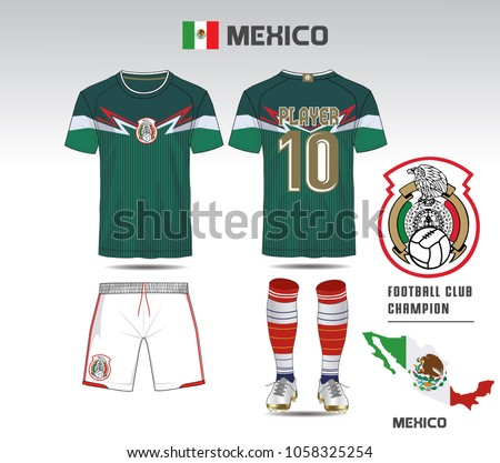 mexico soccer jersey or team
