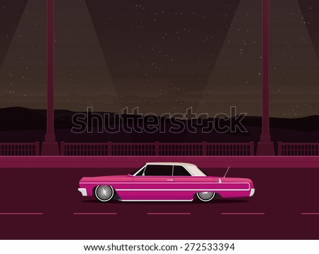 miami night lowrider