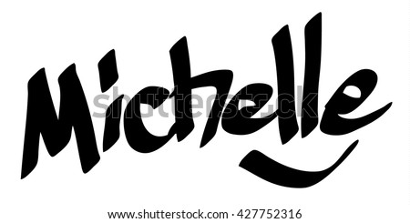 michelle female name street art