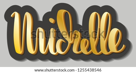 michelle woman's name gold