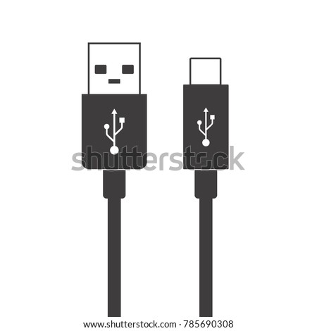 micro usb cables simple flat