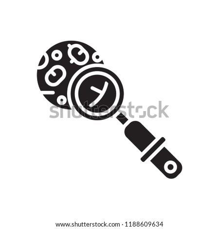Microbiology icon vector isolated on white background for your web and mobile app design, Microbiology logo concept