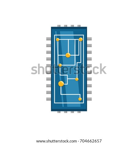 microchip integrated circuit