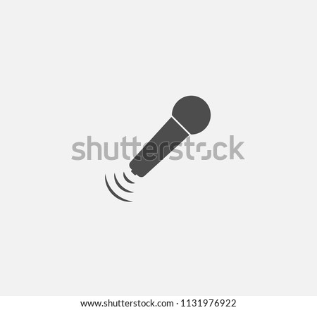 Microphone icon . Vector