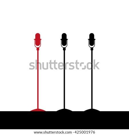 Microphone set isolation