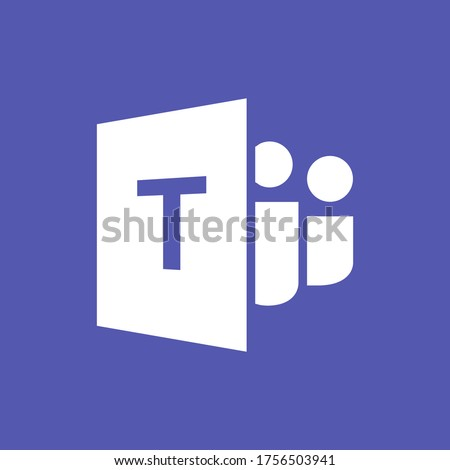 Microsoft Teams logo,remote working application symbol,Microsoft Teams icon.Microsoft Teams, also referred to as simply Teams.