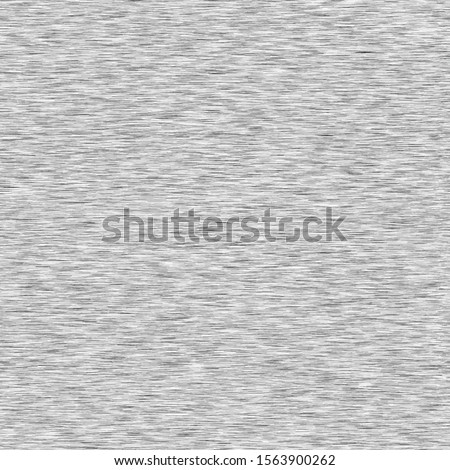 Mid Grey Background Triblend with Grey Marl Heather Texture. Faux Cotton Fabric with Vertical T Shirt Style. Vector Pattern in Light Gray Melange Space Dye Textile Effect. Vector EPS 10 Tile Repeat