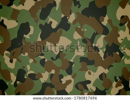 Militar Camouflage texture pattern design Foto stock ©