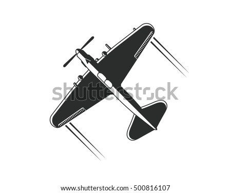 military aircraft il 2 vector