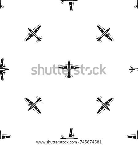military aircraft pattern