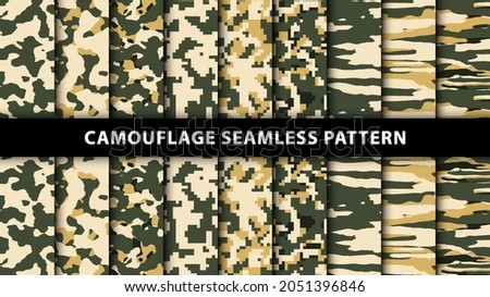 military and army camouflage