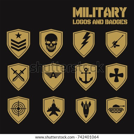 royalty free military logos of special forces set 294074846 stock rh avopix com army ranger logo pictures salvation army logo pictures