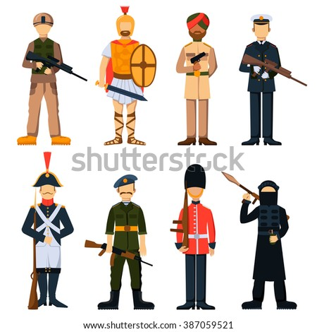 military army soldiers uniform