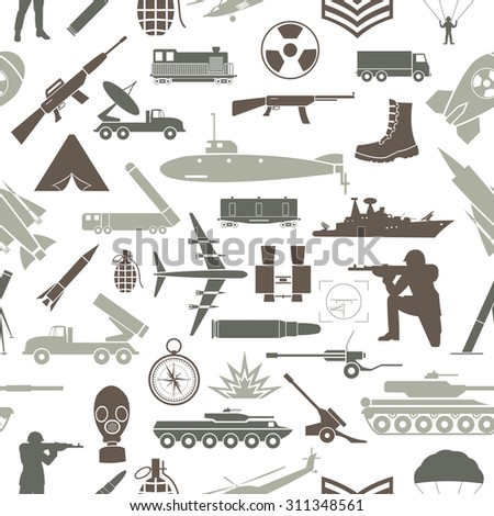 military background seamless