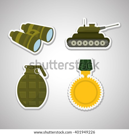 military binoculars design