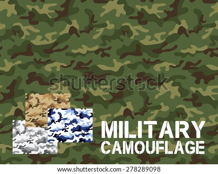 military camouflage seamless