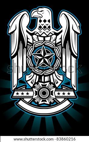 military eagle