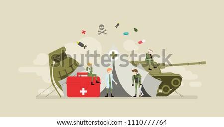 military emergency clinic tiny