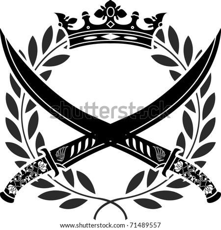 military glory stencil vector