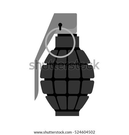 military grenade black  army