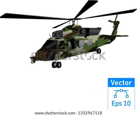 military helicopter design